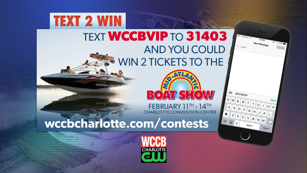 Mid-Atlantic Boat Show text contest