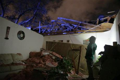 severe storms hit south