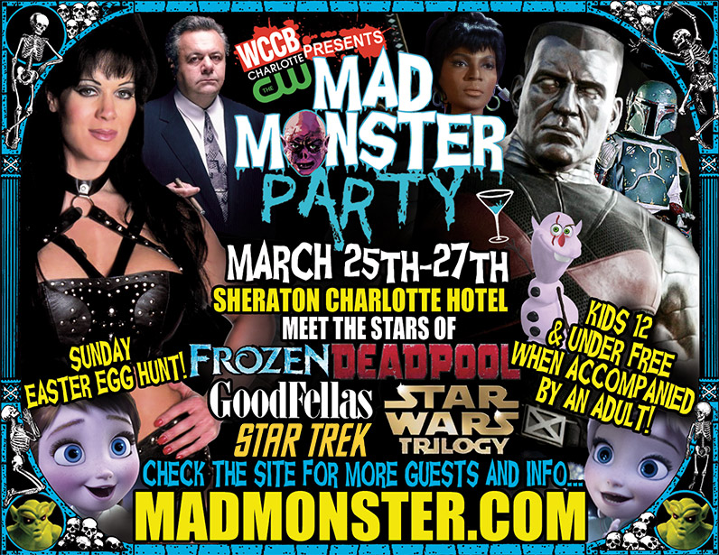 WCCB, Charlotte's CW Presents The Mad Monster Party 2016
