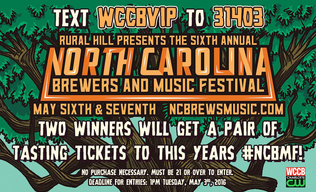 Win tickets to the North Carolina Brewers and Music Festival!
