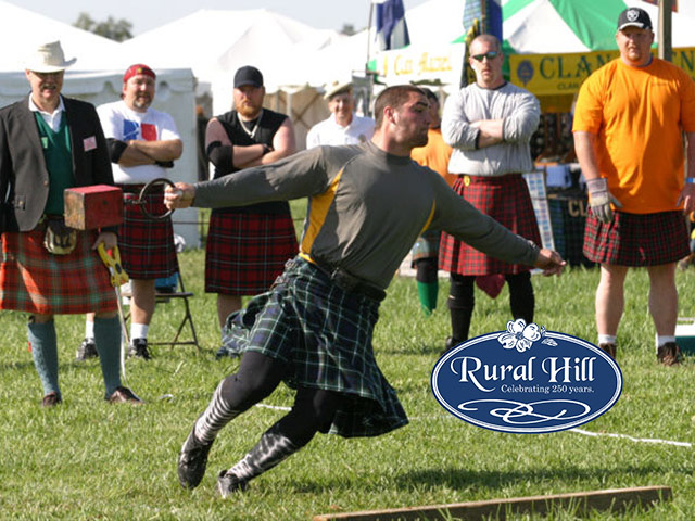 Text2Win Tickets To The Rural Hill Scottish Festival & Loch Norman Highland Games!