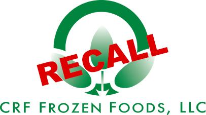 CRF Frozen Foods Recall