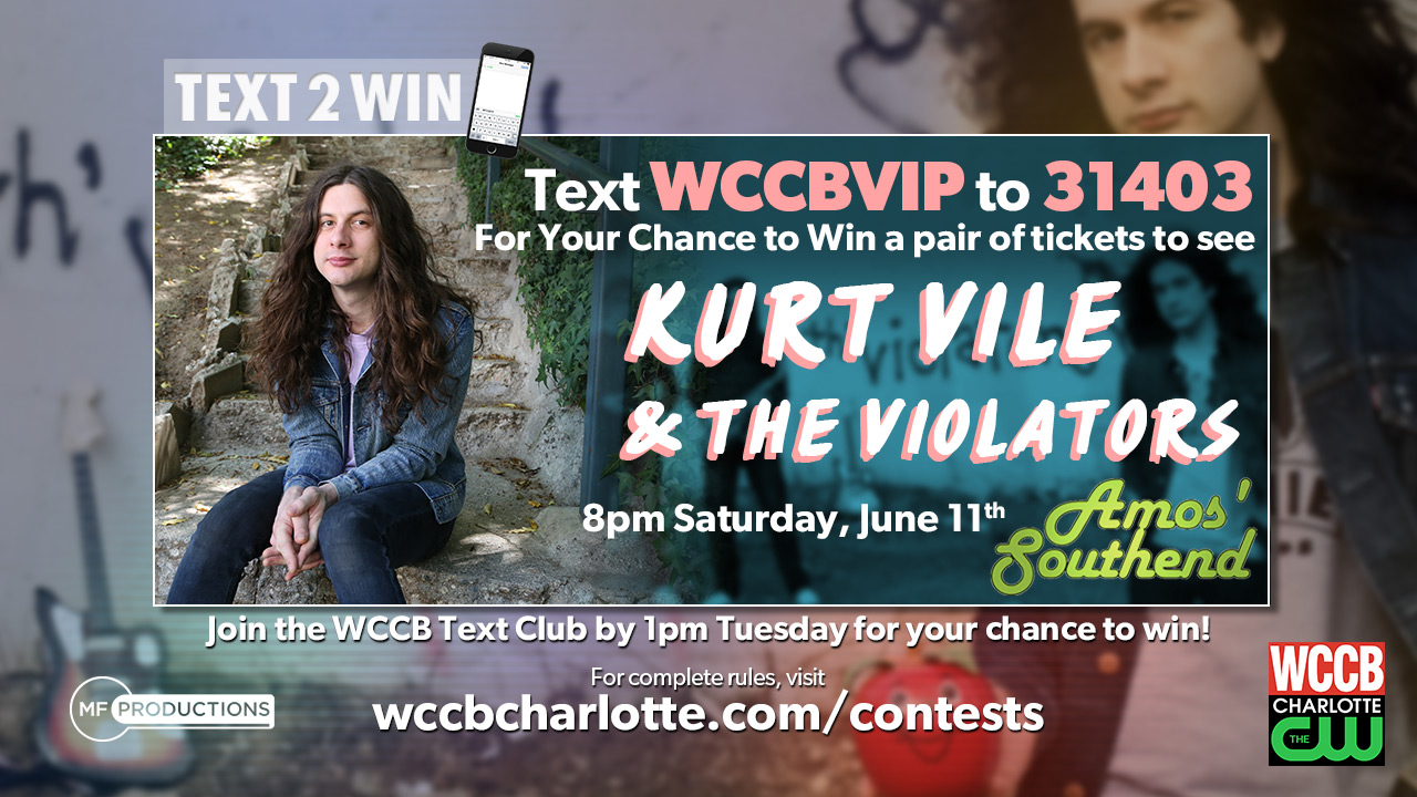 Win tickets to see Kurt Vile and the Violators at Amos' Southend!