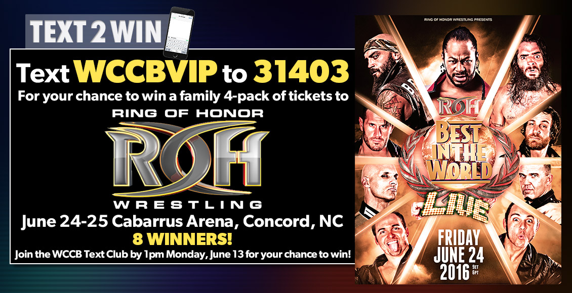 Win Tickets To See Ring of Honor wrestling