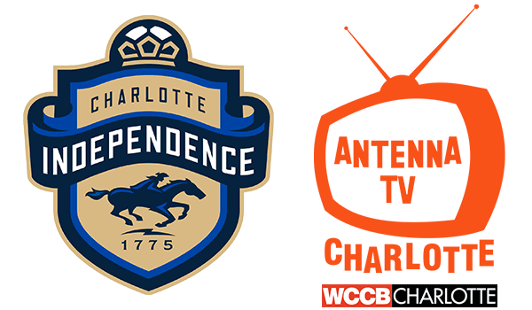 All Saturday evening Charlotte Independence games in 2017 will be broadcast live on WCCB Charlotte sub-channel, Antenna TV