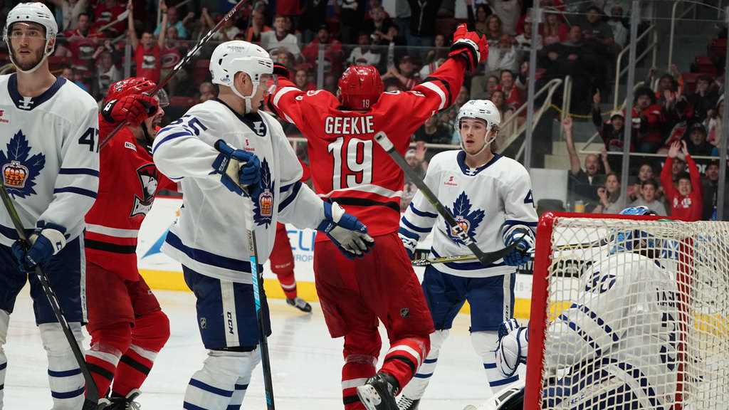 Morgan Geekie Scores in Double Overtime to Send Checkers to Calder Cup Finals.
