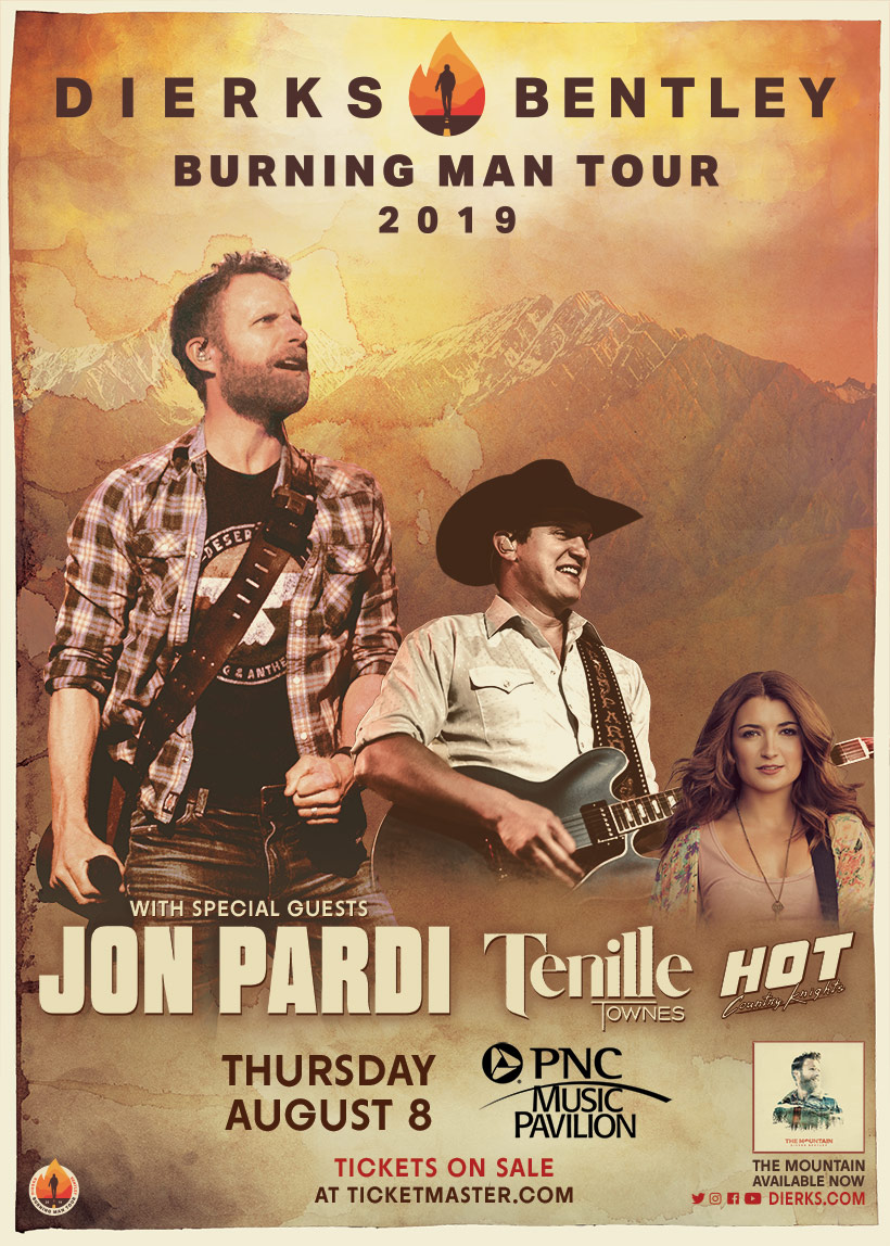 Win a Dierks Bentley - The Seven Peaks VIP Experience from WCCB Charlotte's CW