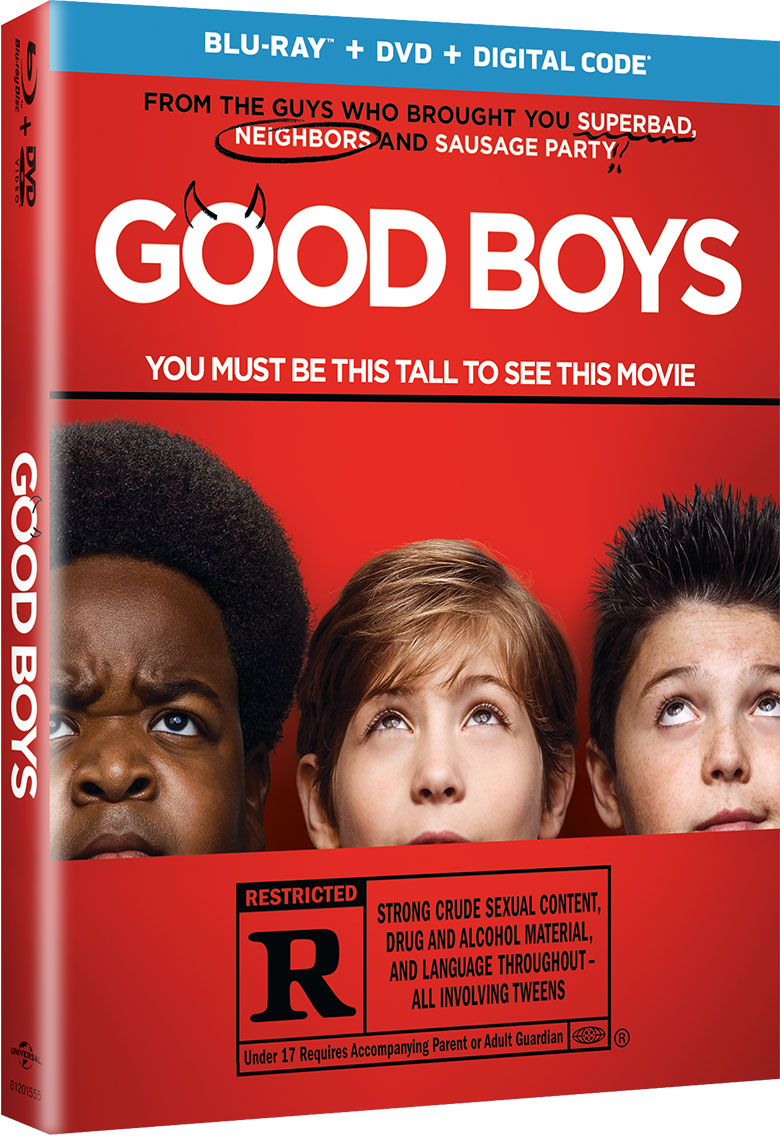 Win a copy of Good Boys on Blu-ray from WCCB Charlotte's CW