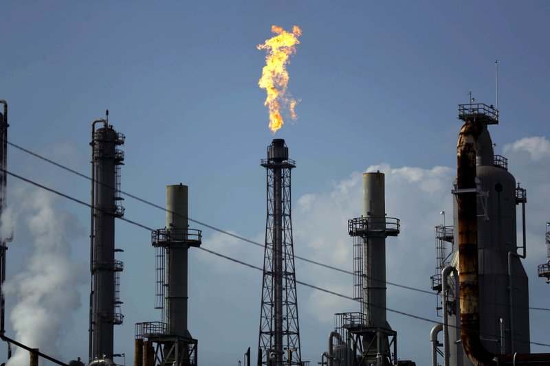Flame Burns At The Shell Deer Park Oil Refinery In Deer Park Texas Ap