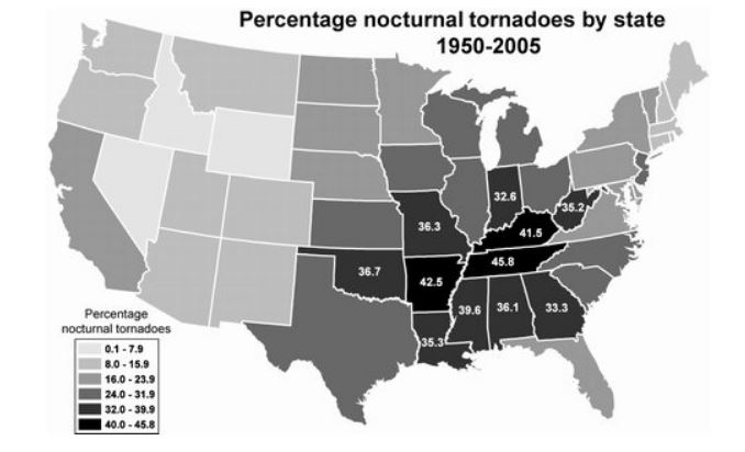Nocturnal Tornadoes1