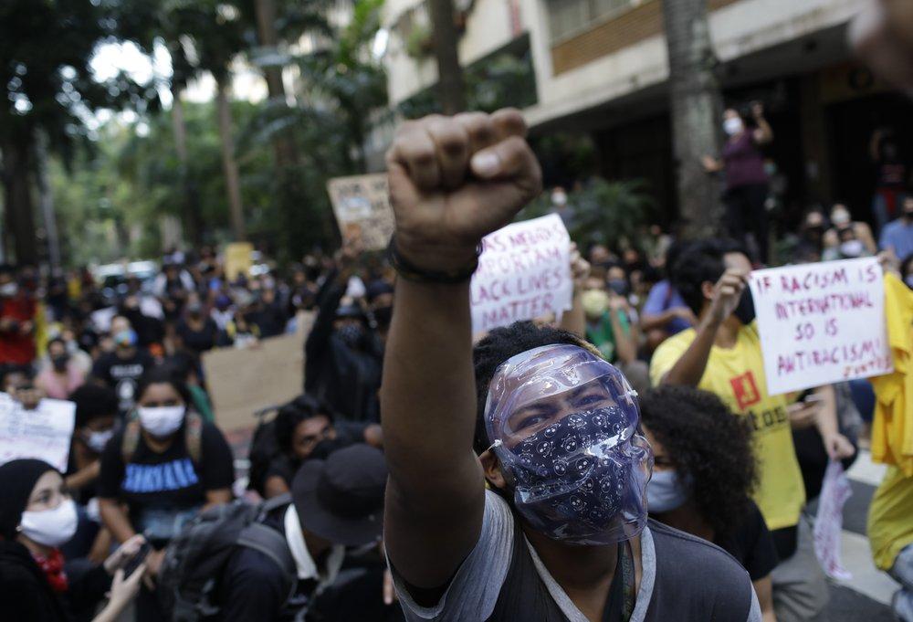 World Wide George Floyd Protests Ap 01