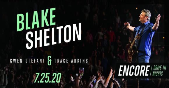 Blake Shelton Encore Drive In Nights