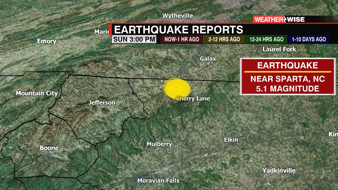 earthquake. in nc - photo #14