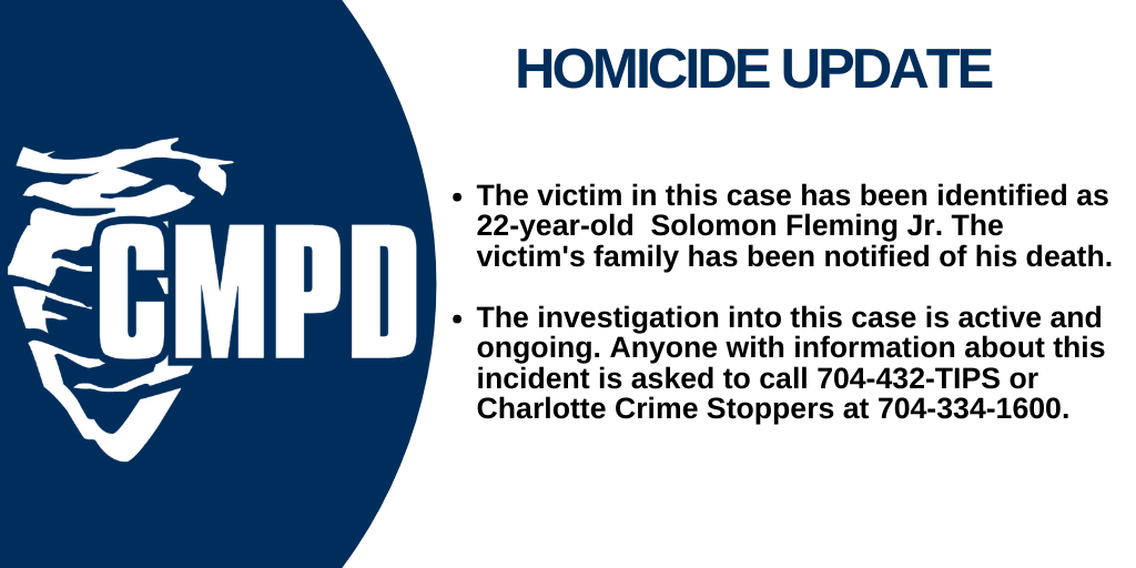 South Tryon Homicide