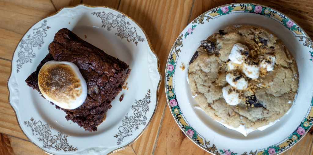 The Batchmaker S'mores Brownie & Cookie Sandwich