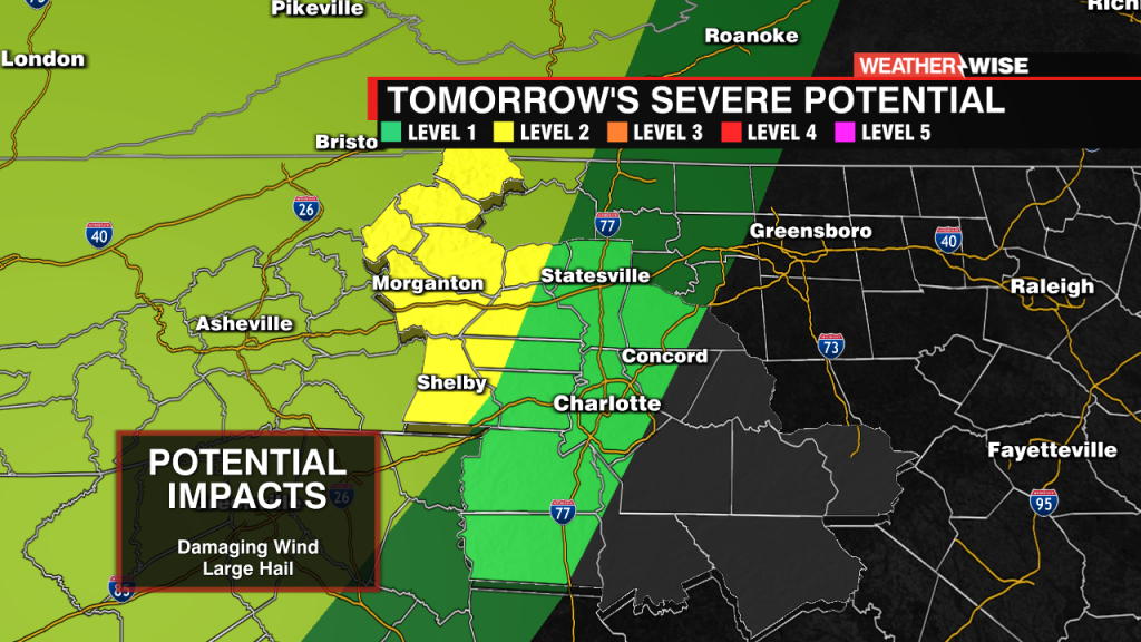 Tuesday's Severe Threat