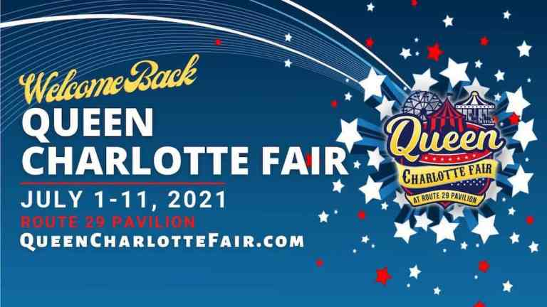 Queen Charlotte Fair Banner 2021