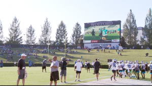 Panthers Will Return To Wofford For Training Camp