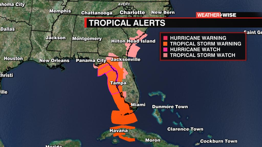 Tropical Alerts World