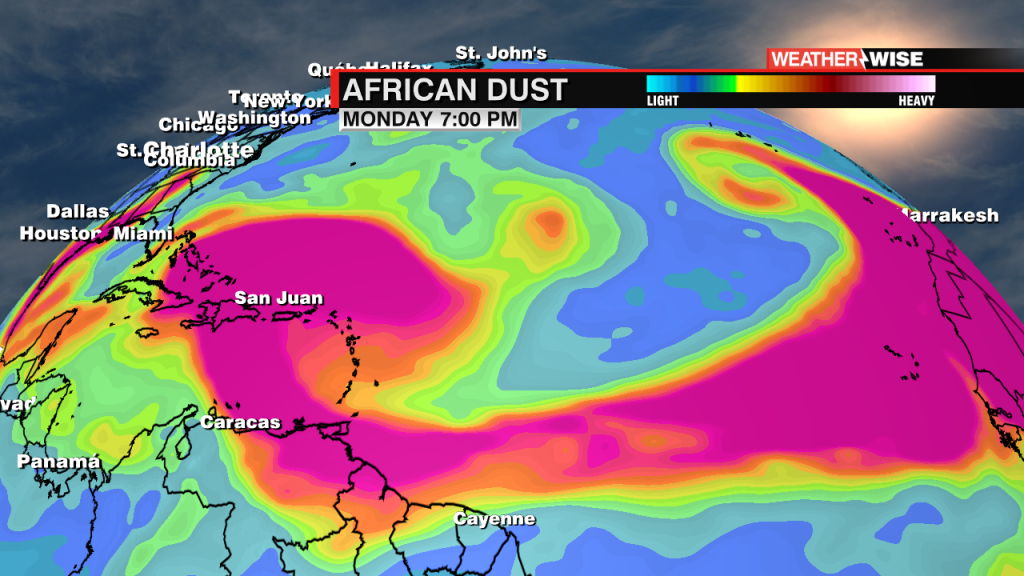 African Dust Outlook