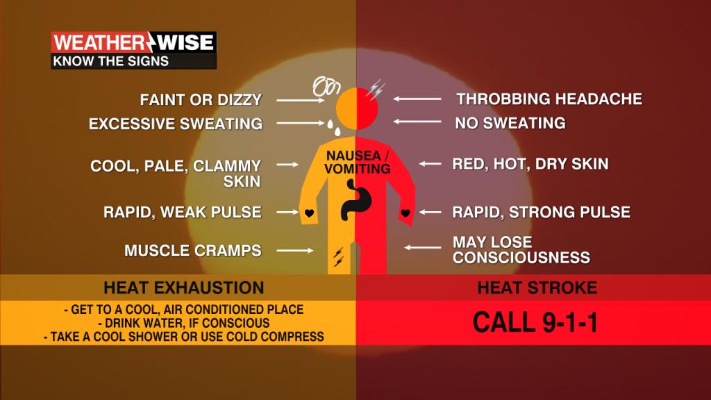 Heat Exhaustion Vs Heat Stroke